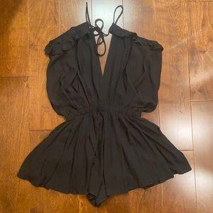 Xenia Boutique Black Romper